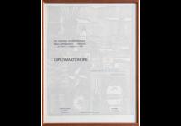 Diploma d'onore mostra artigianato Firenze 1968